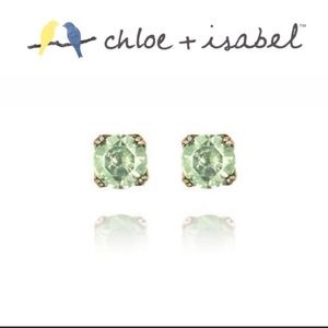 Chloe and Isabel Peridot Birthstone Earrings